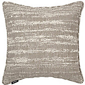 McAlister Grey Textured Chenille Cushion Cover - 43x43cm