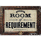 Harry Potter Room Of Requirement Tin Sign 21x15cm