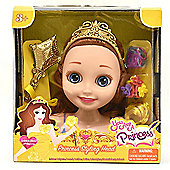 You are a Princess 16cm Styling Head - Golden Rose
