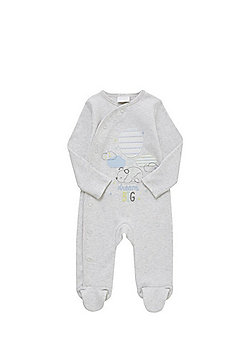 F&F Cloud Embroidered All in One - Light grey