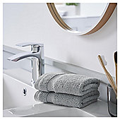 Fox & Ivy Egyptian Cotton Bathroom Textiles - Silver