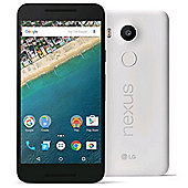 "LG Google Nexus 5X White 5.2"" 32GB 4G Unlocked & SIM Free"