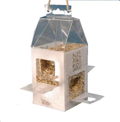 Wild Bird Feeder With Wildflower Seed