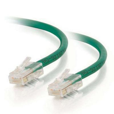 Cables To Go 83064 Cat5E UTP 3 m Patch Cable - Green