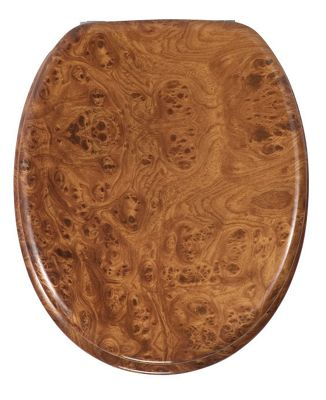 Wenko Root Wood Toilet Seat
