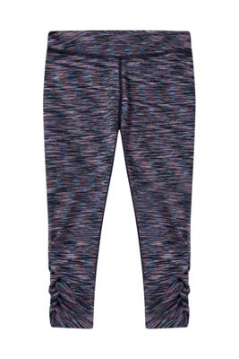 Zakti Kids Solar Space Ruched Capris ( Size: 9-10 yrs )