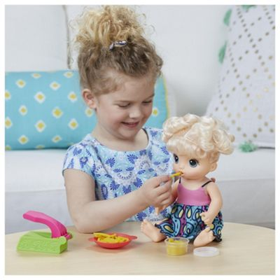 Baby Alive Snackin' Noodles Baby Doll