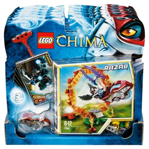 LEGO Legends of Chima Ring of Fire 70100