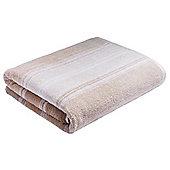 Bianca Cotton Soft Ombre Stripe Towel - Natural