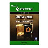 Tom Clancy's Rainbow Six Siege Currency pack 16000 Rainbow credits DIGITAL CARDS (Digital Download Code)