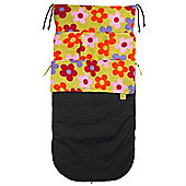 Buggy Snuggle Explorer Waterproof Buggysnuggles (Bright Flowers)