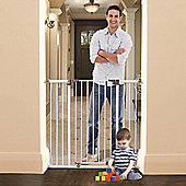 Dreambaby Extra Tall Liberty Xtra Hallway Security Gate White