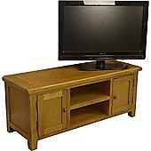Tucan Rustic Large Oak TV Unit / Oak TV Stand