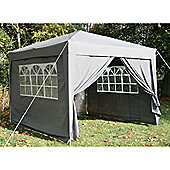 Airwave Pop Up Gazebo Fully Waterproof 3x3m in Grey