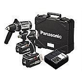 Panasonic EYC 158 LR Drill Driver & Impact Wrench Twinpack 18 Volt 2 x 3.3Ah Li-Ion PANC158LR