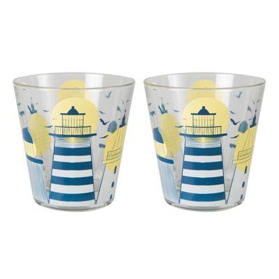 Muurla Lighthouse Set of 2 Drinking Glasses