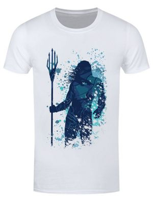 Arthur Curry Silhouette Men's T-shirt White