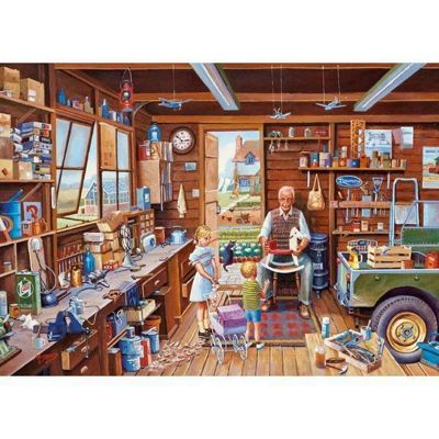 Made by Grandpa - 1000pc Puzzle