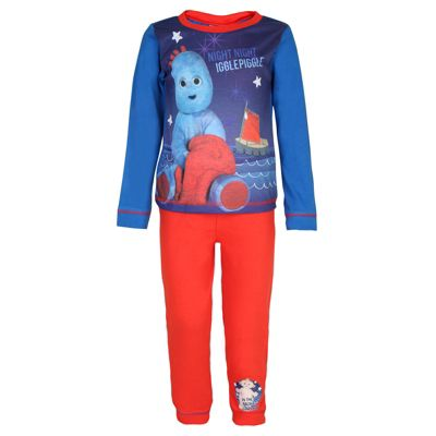 In The Night Garden Toddler Boys Pyjamas Red 12-18 Months