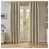 Tesco Florence Curtains -  - 66x54 - Natural