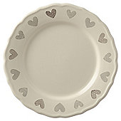 Amore Taupe Dinner Plate