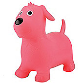 ToyStar Bouncy Dog Hopper Toy - Pink