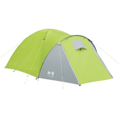 Trail Bracken 3-Man Dome Tent With Large Porch - Green