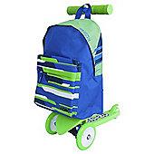 Zinc Rucksack Scooter - Green