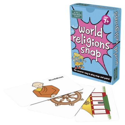 BrainBox World Religions Snap Card Game