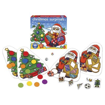 Orchard Toys Christmas Surprises Educational Game