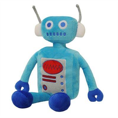 Little Big Cloud Robot Blue Cuddly Toy