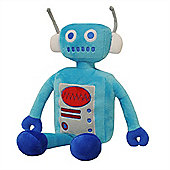 Little Big Cloud Robot Blue Cuddly Toy