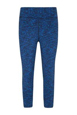 Mountain Warehouse Isocool Dynamic 3/4 Space Dye Leggings ( Size: 8 )