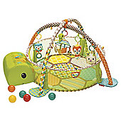 Infantino Activity Gym & Shape Sorting Ball Pit