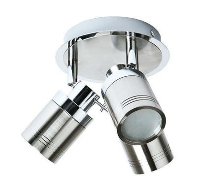 Starmo IP44 Triple Chrome Ceiling Light