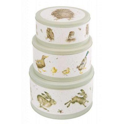 Wrendale Set of 3 Nested Cake Tins