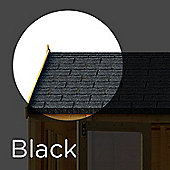 3 m² Black Asphalt Roof Felt Tiles Shingles for Sheds, Log Cabins & Summerhouses