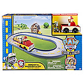 Paw Patrol Roll Patrol Rocky's Barn Rescue Track Set