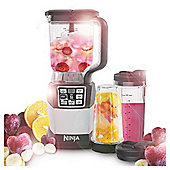 Ninja BL492UK Nutri Compact Blender with 1200W and 2L Capacity in Silver