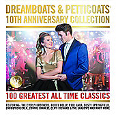 Various Artists Dreamboats & Petitcoats- 10th Anniversary (4CD)