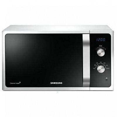 Samsung MS23F301EAW White Microwave | 800W Freestanding