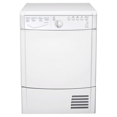 Indesit IDCA735 Condenser Tumble Dryer, 7Kg Load, C Energy Rating, White