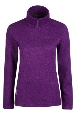 Mountain Warehouse Nevis Half Zip Womens Fleece ( Size: 10 )