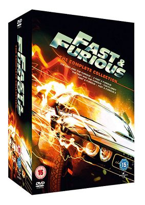 Fast And Furious 1-5 (DVD Boxset)