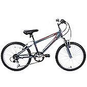 "Ammaco Bolt 18"" Wheel Boys Alloy Front Suspension Bike"