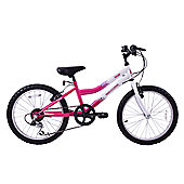 "Professional Sparkle 20"" Wheel Kids MTB Bike 6 Speed"