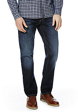 F&F Straight Leg Jeans - Dark wash