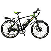 GreenEdge CS2 Electric Mountain Bike with Mudguards and Rear Rack
