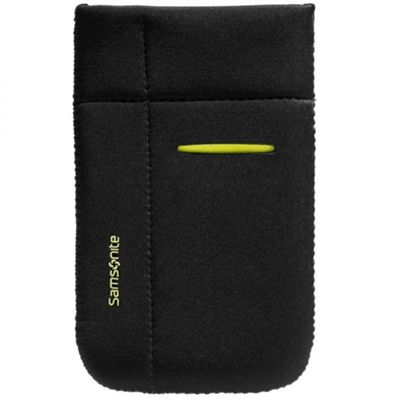 Samsonite Airglow Black/Green Universal Neoprene Mobile Phone Sleeve