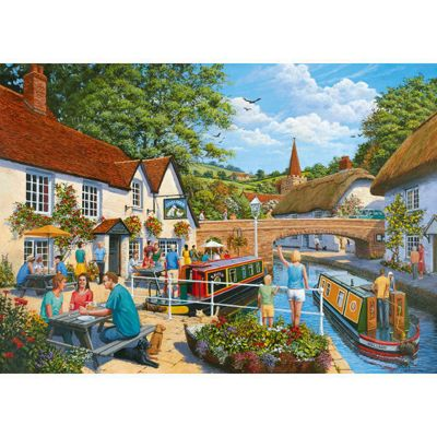 Waterside Tavern - 1000pc Puzzle